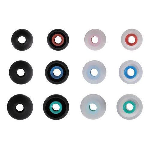 Hama Wkładki do słuchawek silikonowe rozmiary s-l (12 szt)