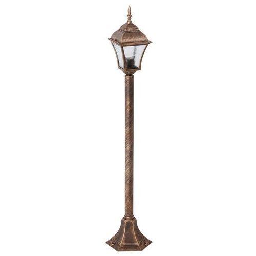 Rabalux Lampa stojąca ogrodowa toscana 1x60w e27 ip43 antyczne złoto 8395 (5998250383958)