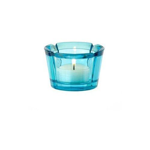 Rosendahl - szklany świecznik, błękitny