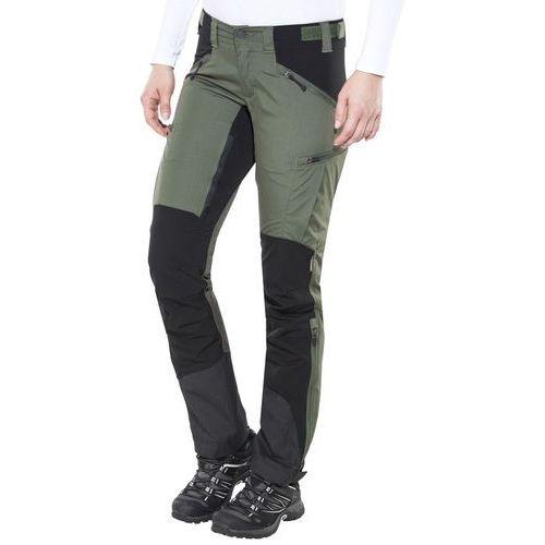 Lundhags Makke Spodnie długie Kobiety oliwkowy 36 2018 Spodnie turystyczne (7318731316349)