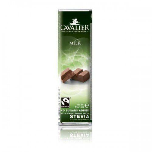 Baton z czekolady mlecznej, bez cukru, 44g (wafelek, baton)