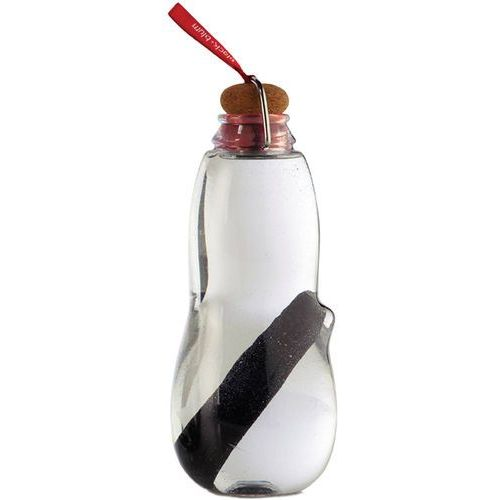 Butelka na wodę z filtrem węglowym eau good black blum czerwona (eg004) marki Black + blum