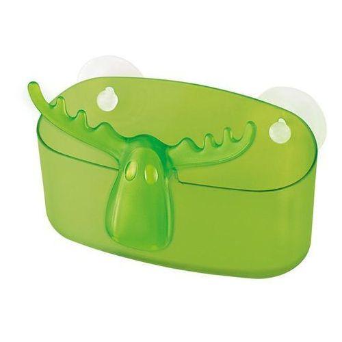 Koziol Organizer łazienkowy zielony rudolf (do wyczerpania zapasów) kz-5247543