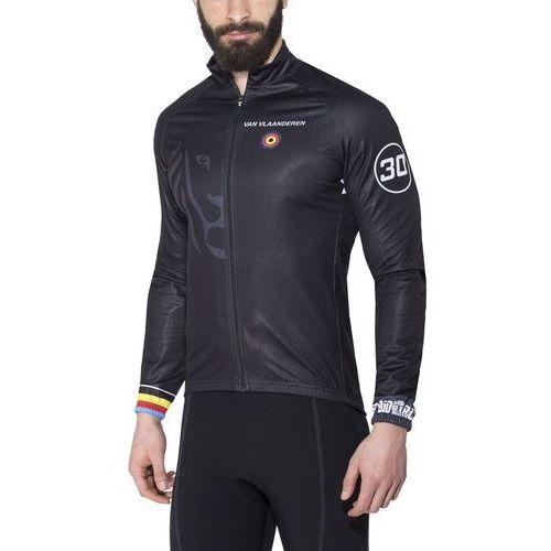van vlaanderen pro race kurtka mężczyźni czarny s 2018 kurtki przeciwwiatrowe marki Bioracer