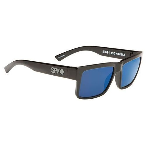 Okulary Słoneczne Spy MONTANA BLACK - HAPPY GRAY GREEN POLOR W/ BLUE SPECTRA, kolor zielony