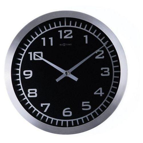 - zegar ścienny blacky marki Nextime