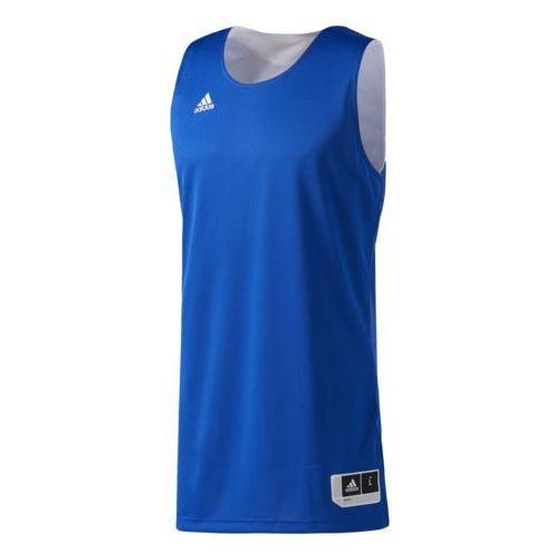 Adidas Koszulka reversible crazy explosive - cd8691 - niebiesko-biała