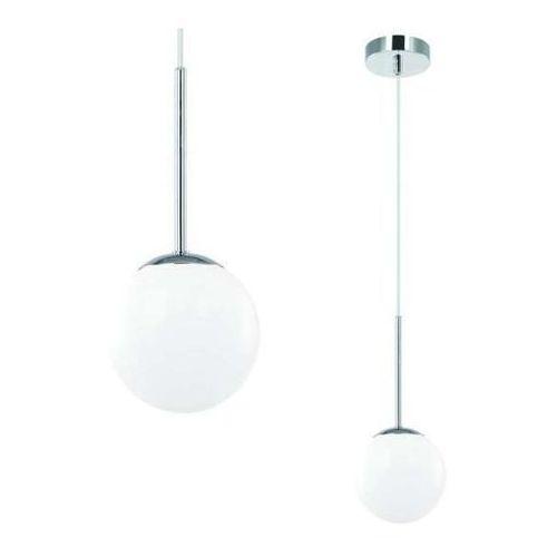 Loftowa LAMPA wisząca BAO I CROMO IP44 Orlicki Design łazienkowa OPRAWA szklana kula ZWIS ball IP44 chrom biały, BAO I CROMO IP44