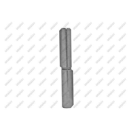 Zawias do wspawania, INOX D14, L100mm