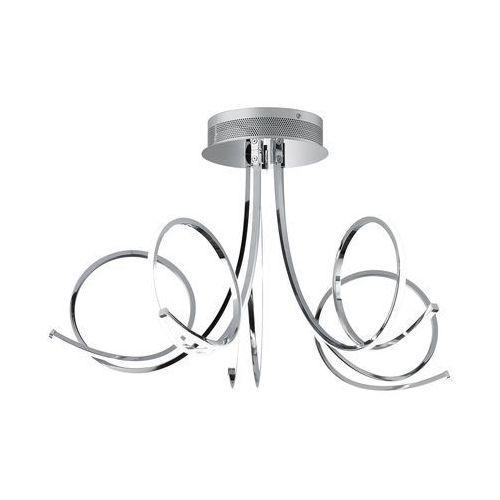 Wofi CYRANO Lampa sufitowa LED Chrom, 1-punktowy - Nowoczesny - Obszar wewnętrzny - CYRANO - Czas dostawy: od 2-4 dni roboczych, kolor Silber,