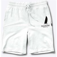 Diamond Szorty - boat life sweatshorts white (wht)