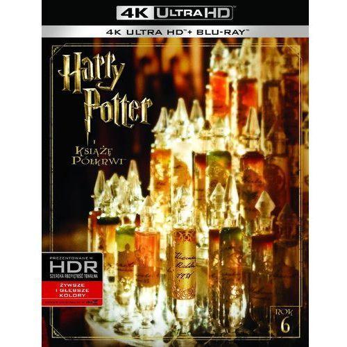 Harry Potter i Książę Półkrwi (4K Ultra HD) (Blu-ray) - David Yates DARMOWA DOSTAWA KIOSK RUCHU