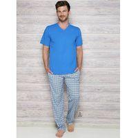 adam 2131 aw/17 k1 niebieska piżama męska, Taro