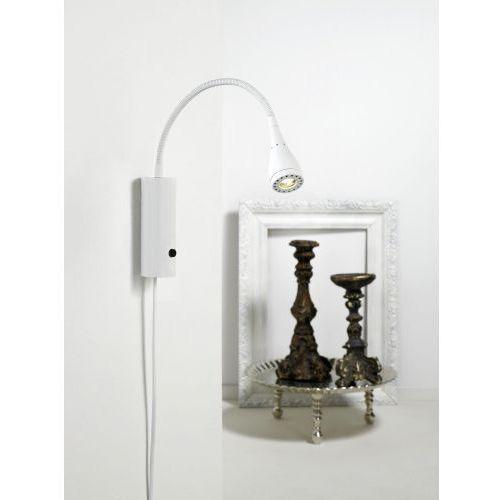 Lampa ścienna LED Mento elastyczne ramię biała (5701581285972)
