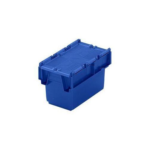 Pojemnik wielokrotnego użytku do ustawiania w stos ze składaną pokrywą, poj. 6 l