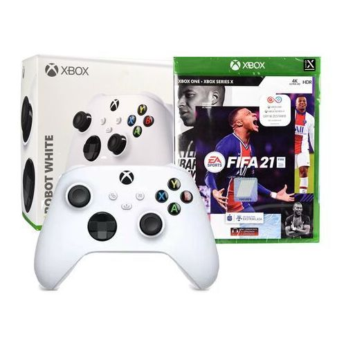Kontroler xbox series x biały marki Microsoft