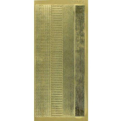 Sticker złoty 01421- zestaw szlaczków (r675) x1 marki Herma