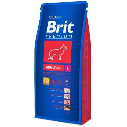 Brit  premium adult l 15kg (8594031449409)