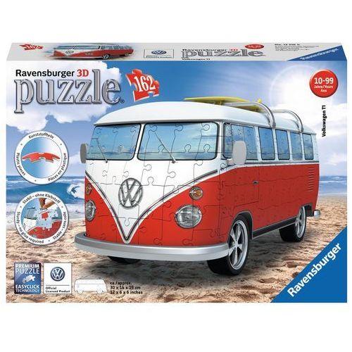 Puzzle 3D Volkswagen Bus T1 162 elementów 125166 - Ravensburger (4005556125166)
