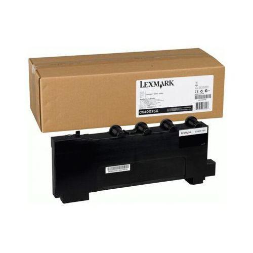 Pojemnik na zużyty toner oryginalny c540x75g do  c544 - darmowa dostawa w 24h marki Lexmark