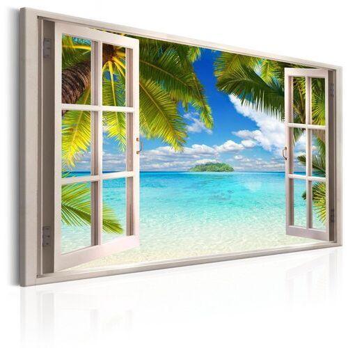 Obraz - okno: widok na morze marki Artgeist