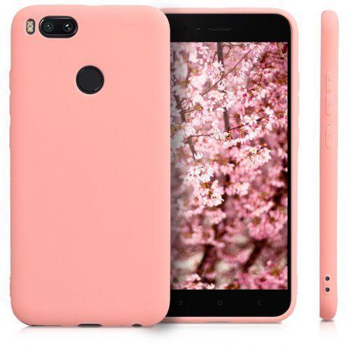 Xiaomi Mi A1 Etui Silikonowe TPU Różowe, kolor różowy