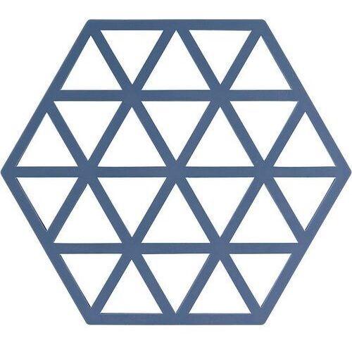 Podstawka pod gorące naczynia triangles niebieska marki Zone denmark