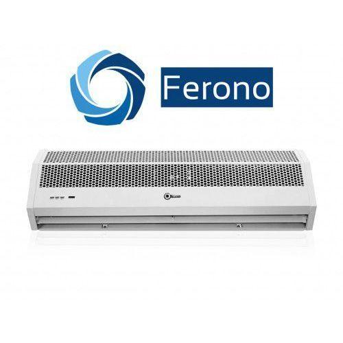 Kurtyna powietrzna 90cm z nagrzewnicą elektryczną 6kw (400v) (fk90e3) marki Ferono