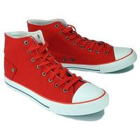 Big star dd174253 czerwony, trampki męskie - czerwony