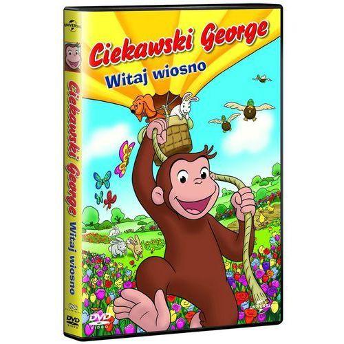 Ciekawski George. Witaj wiosno! [DVD] (DVD) - Scott Heming, Andrei Svislotski (5902115600890)