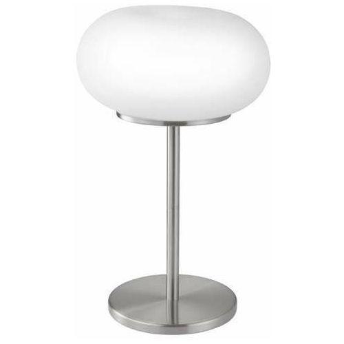 optica-c 98658 lampka lampa stołowa 1x16w led nikiel/biała marki Eglo