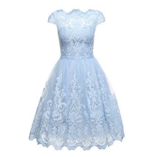 sukienka koktajlowa 'rhiannon dress' jasnoniebieski marki Chi chi london