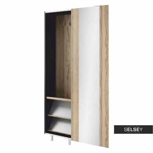 SELSEY Szafa wąska Grafikus z przesuwanymi drzwiami (5902622505237)