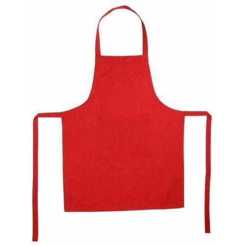 Fartuch kuchenny w kolorze czerwonym, 60x80 cm marki Atmosphera