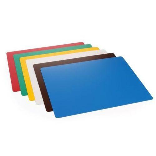 Podkładki do krojenia haccp w różnych kolorach   6szt.   380x305x(h)1,4mm marki Hendi