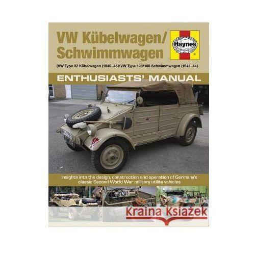Kubelwagen/Schwimmwagen Manual (160 str.) - Dobra cena!