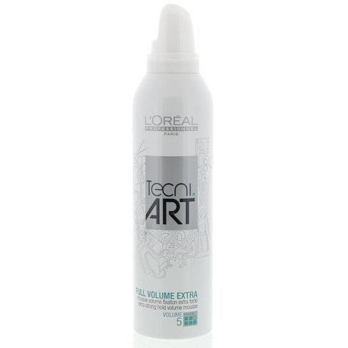 L´Oreal Paris Tecni Art Full Volume Extra Foam 250ml W Pianka do włosów zwiększająca objętość (3474630614543)