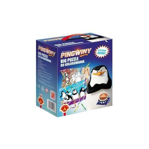 Alexander- Pingwiny Z Madagaskaru - Big Puzle, 5906018011586