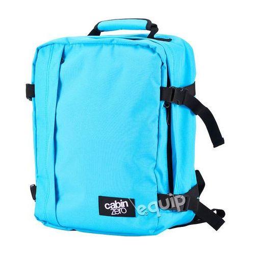 Plecak torba podręczna CabinZero mini Wizzair - samui blue, kolor niebieski