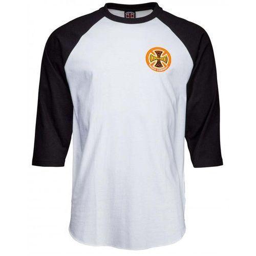 Koszulka - suspension sketch baseball top black/white (black-white) rozmiar: l marki Independent