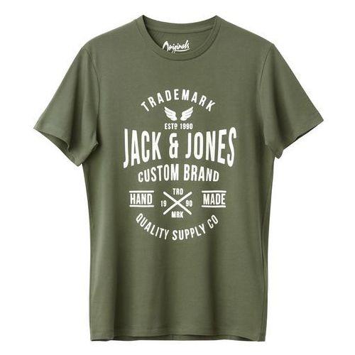 T-shirt z okrągłym dekoltem i krótkim rękawem marki Jack & jones