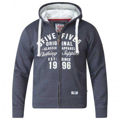 VADAL-D555 Bluza Męska Grafitowa Duże Rozmiary
