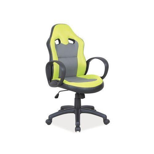 Signal Fotel obrotowy, krzesło biurowe q-054 green
