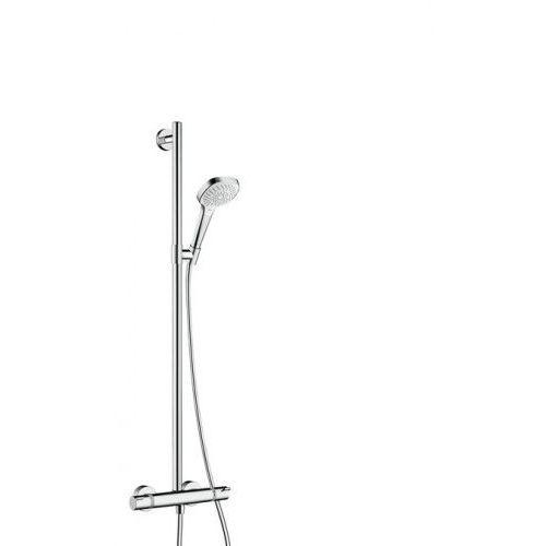 Hansgrohe croma select e komplet prysznicowy biały/chrom 27248400