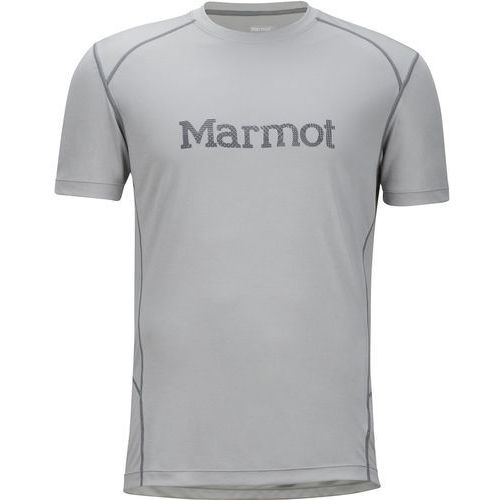 Marmot Windridge with Graphic SS Bright Steel/Grey Storm M, kolor szary