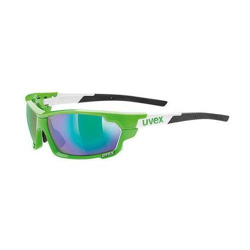 Okulary Uvex Sportstyle 702 869/7816 biało-zielone (2010000506202)