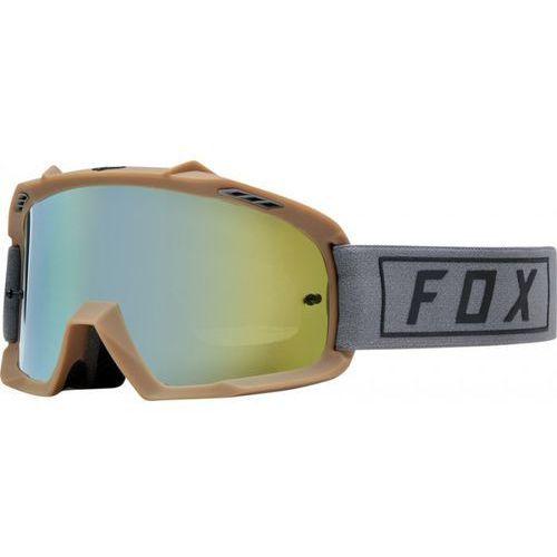 GOGLE FOX JUNIOR AIR SPACE GASOLINE GREY/ GOLD SPA