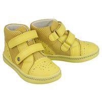 91764-1mw żółty, trzewiki profilaktyczne dziecięce, rozmiary: 21-26 marki Bartek