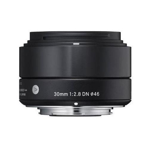 Sigma Obiektyw  digital a 30/2.8 dn micro 4/3 (mft) czarny + darmowy transport! + zamów z dostawą jutro! (0085126929695)