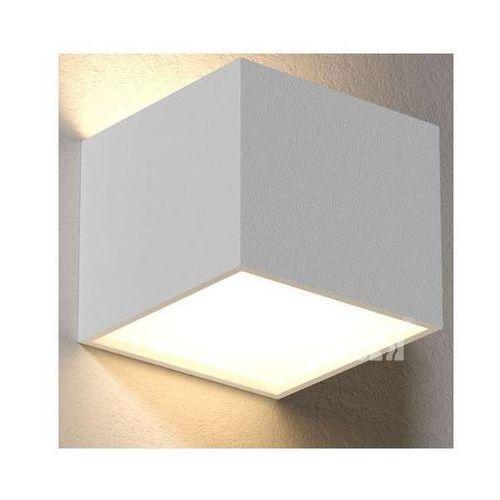 Cleoni Lampa ścienna ster t147z/d/b/m5/kolor/3000k minimalistyczna oprawa kinkiet led 8w kostka